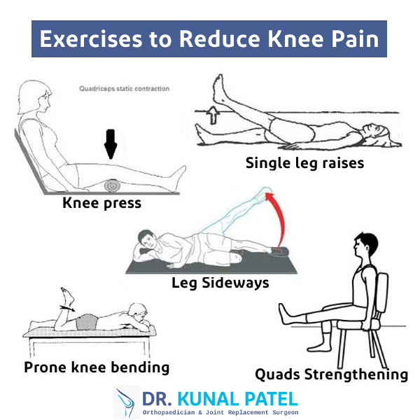 Exercises to Reduce Knee Pain